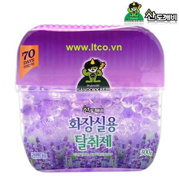 Sáp thơm khử mùi Sandokkaebi Lavender 300g