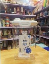 Bình nước nhựa trong có khóa vòi 2,9 lít_A
