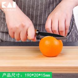 Dao gọt hoa quả có nắp đậy Kai_5