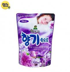 Nước xả mềm vải Sandokkaebi 1300ml - Lavender_A