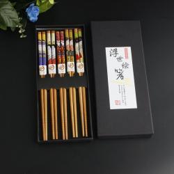 Set 5 đôi đũa tre Nhật Bản_12