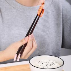 Set 10 đôi đũa mun gỗ Nhật Bản - Hộp đen_5
