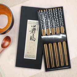 Set 5 đôi đũa tre Nhật Bản_5