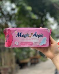 Băng vệ sinh Magic Aegis cánh mỏng, lưỡi vừa 245mm_A