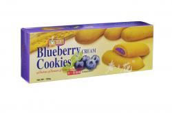 Blueberry Cream Cookies Mum's Bake - Bánh quy nhân kem Việt Quất 180g_A