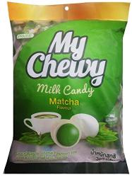 Kẹo mềm  My Chewy milk candy Matcha 100 viên 360g_A
