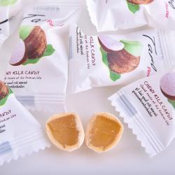 Kẹo mềm vị khoai môn chewy milk candy 100 viên 360g_A