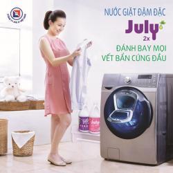 Nước giặt xả July 2X Vivid Purple - 3500ml Tím_7