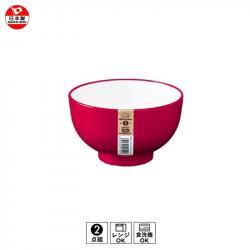 Bát nhựa Nakaya màu đỏ 420ml_A