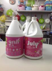 Nước giặt xả July 2X Sweet Pink - 3500ml Hồng_6