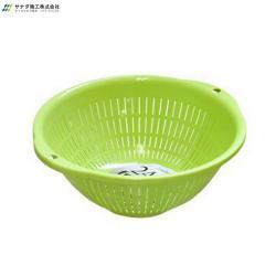Rổ nhựa tròn Sanada Seiko 3.6L - Màu xanh_A