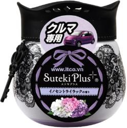 Hộp sáp thơm Suteki Plus 90g - hương hoa tử đinh hương_A