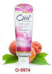 Kem đánh răng Ora2 Peach leaf mint_A