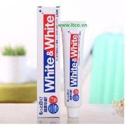 Kem đánh răng trắng sáng White & White_A