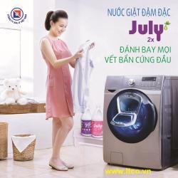 Nước giặt xả July 2X Sweet Pink - 3500ml Hồng_4