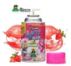 Xịt phòng Sandokkaebi - Hương Strawberry chai 300ml_A
