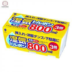 Set 03 Hộp hút ẩm, khử mùi Kokubo 800ml_A