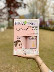 Bộ chăm sóc cơ thể Set 02 chai Sữa tắm dưỡng ẩm, làm trắng da Heavening Perfect_3