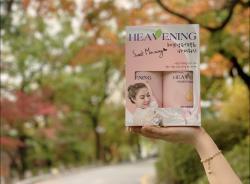 Bộ chăm sóc cơ thể Set 02 chai Sữa tắm dưỡng ẩm, làm trắng da Heavening Perfect_4