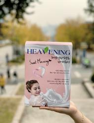 Bộ chăm sóc cơ thể Set 02 chai Sữa tắm dưỡng ẩm, làm trắng da Heavening Perfect_A