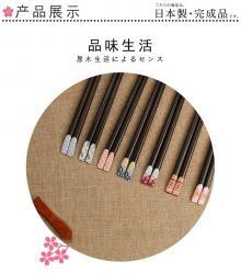 Set 10 đôi đũa gỗ mun Nhật Bản - Hộp đỏ_3
