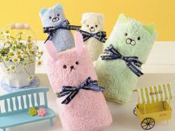 Set khăn tắm mềm hình gấu_A